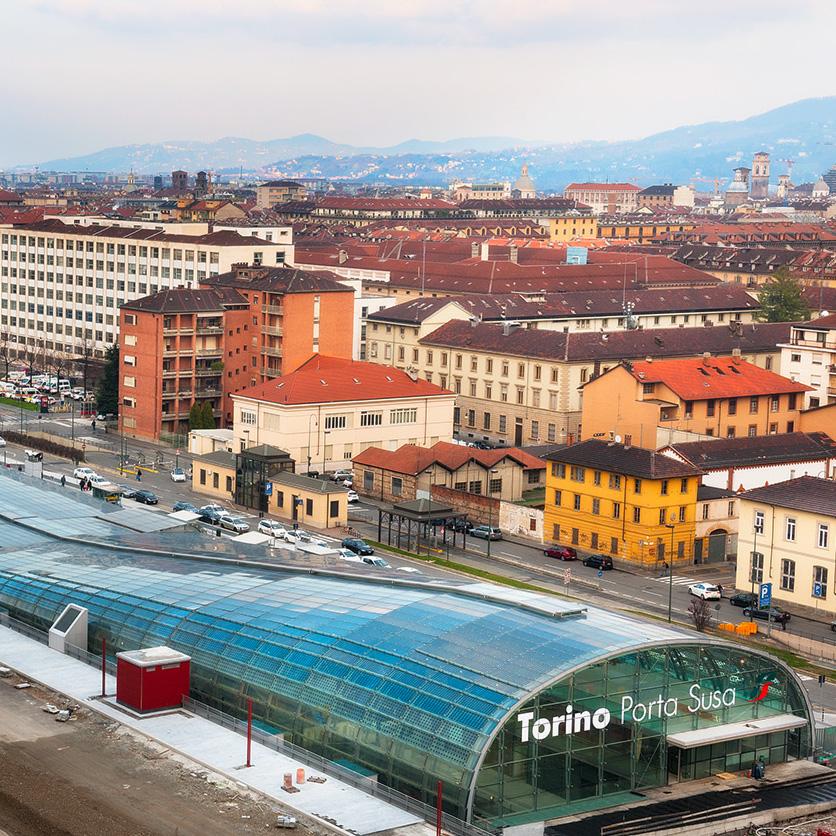 Stazione porta susa torino gae engineering srl - Orari treni milano torino porta nuova ...