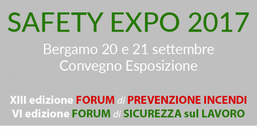 Safety Expo 2017 Bergamo