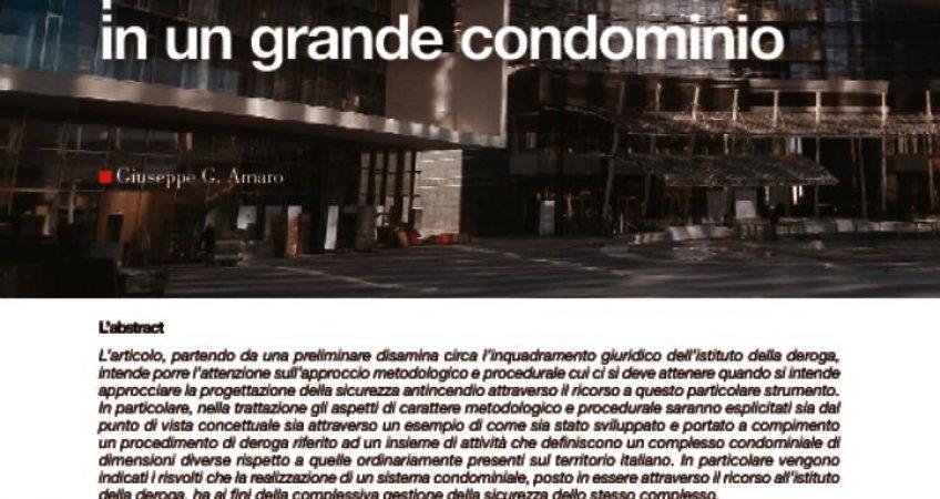 thumbnail of 05_La richiesta di deroga per le attività normate in un grande condominio.